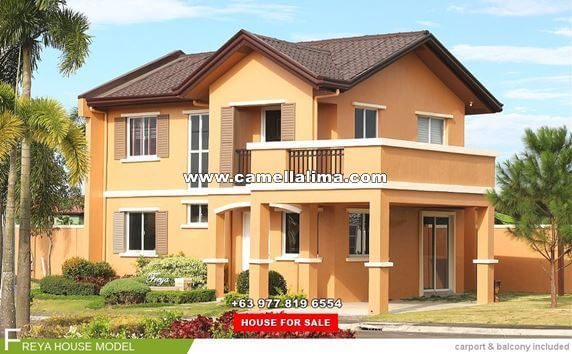 Camella Lima House and Lot for Sale in Lima Batangas