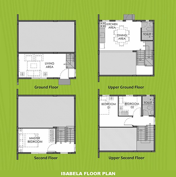 Isabela Floor Plan House and Lot in Lima